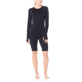 Icebreaker 200 Zone Shorts Women Black/Mineral